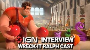 Wreck-It Ralph Cast - IGN Interview