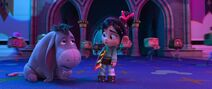 Ralph Breaks The Internet Eeyore and Vanellope