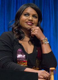 Mindy Kaling at PaleyFest 2013 (cropped)