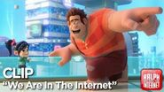 """Ralph Breaks the Internet """"We Are In The Internet"""" Clip"""