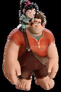 Ralph & Vanellope Render 2
