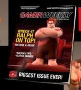 Ralph on a magazine