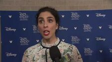 WRECK-IT RALPH 2 Sarah Silverman at Disney's D23 2017
