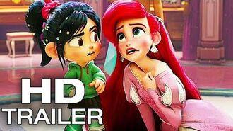 WRECK IT RALPH 2 Vanellope Meets Ariel Scene Trailer (NEW 2018) Ralph Breaks The Internet Movie HD