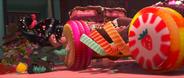 Vanellope Kissing A Wheel