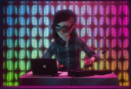 Skrillex Set to Play a Role in Upcoming Disney Movie