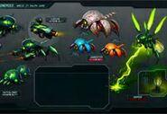 Cy-Bug designs