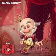 King candy wallpaper