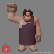 Ralph the caveman