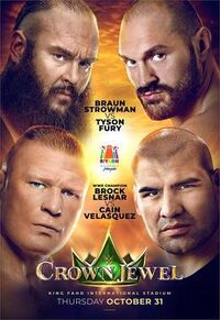Crown Jewel 2019 Poster