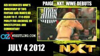 WRESTLEPEDIA - Paige NXT-WWE Debuts