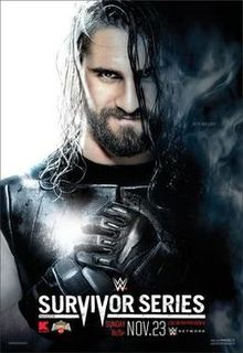 WWE Survivor Series 2014 Official Poster