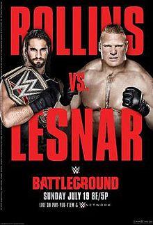 Battleground 2015 poster