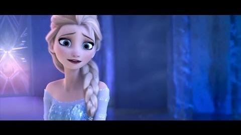 Frozen - For The First Time In Forever Reprise (Castle Movie Scene) HD