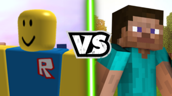 Roblox And Minecraft Combined Roblox Vs Minecraft Write Epic Battles Wiki Fandom
