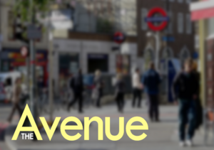 The Avenue title card (Season 3)