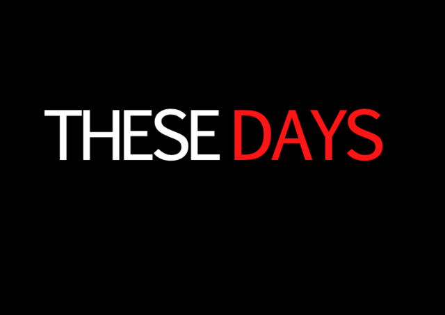 File:These Days title card (Season 1).png