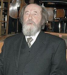 250px-Alexander Solzhenitsyn in Moscow December 1998