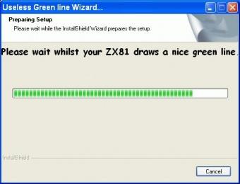 Useless grn line