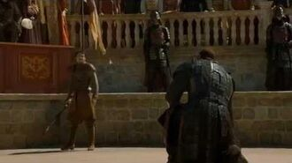 Game Of Thrones 4x08 The Red Viper (Oberyn Martell) vs The Mountain (Gregor Clegane)