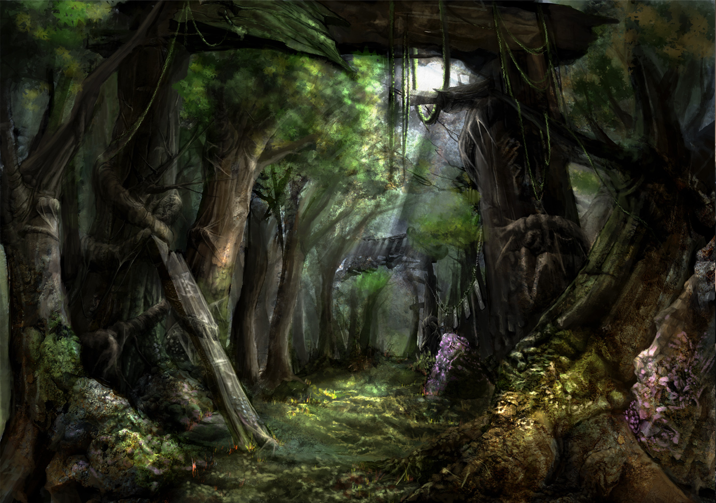 image fantasy forest wallpaper hd 6 jpg writing and roleplaying
