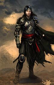Human warrior by saturnoarg-d3kpdd4
