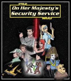 On Her Majestys Security Service poster