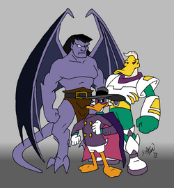 Disney Afternoon action heroes