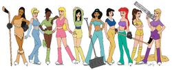 Disney Ice Girls