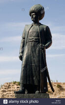 Turkey-trabzon-sultan-suleyman-statue-BEMB2H