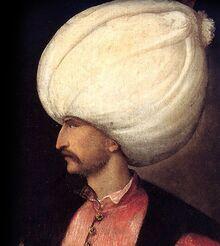 Portret sułtana Sulejmana wspaniałego