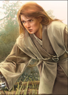 Female Jedi light tunic