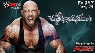 WWE 2K14 Universe (Ep.247 - Backlash)