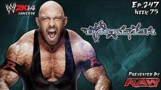 WWE 2K14 Universe (Ep.247 - Backlash)-0