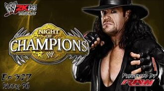 WWE 2K14 Universe (Ep.327 - Night of Champions)