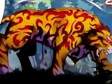 Fire Python Tiger