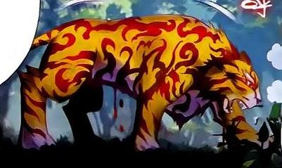 File:Fire Python Tiger portrait.png