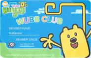 Wubb Club Badge