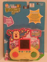 Wubbzy Electtronic Handheld Game Package - Front