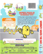 Wubbzy Saves the Day DVD Artwork (Back and Side)
