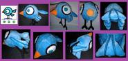 My Homemade Birdy Bird Plush (Small)