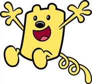 Decal - Springing Wubbzy