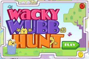 Wacky Wubb Hunt Title