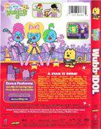 Wubb Idol DVD Artwork - Back and Side