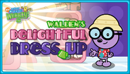 Walden's Delightful Dress Up Game Title Screen