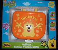 Wubbzy's Bilingual Treehouse Laptop - Package, Front