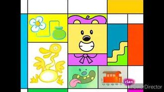 Wow wow wubbzy paint a picture in (castilian European) spanish