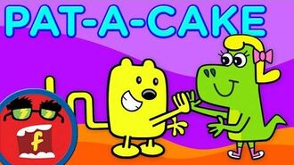 Pat-A-Cake - Fredbot Kids Songs (Lucy the Dinosaur)