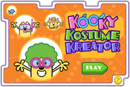 A Little Help From Your Friends - Kooky Kostume Kreator Title Screen