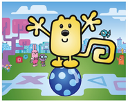 Wubbzy On Kickety-Kick Ball